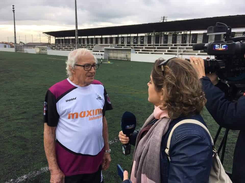 Dia Mundial da 3ª Idade - Equipa de W. F. da Universidade Sénior de Oliveira do Bairro, em direto no Telejornal da SIC às 13H00