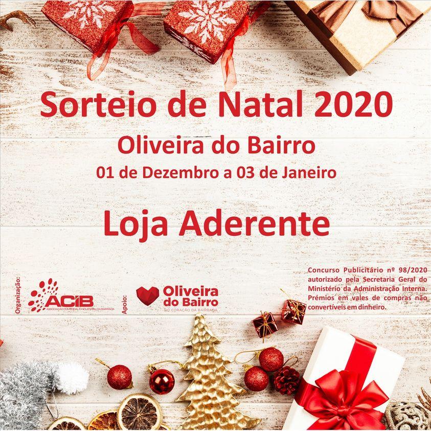 Sorteio de Natal 2020